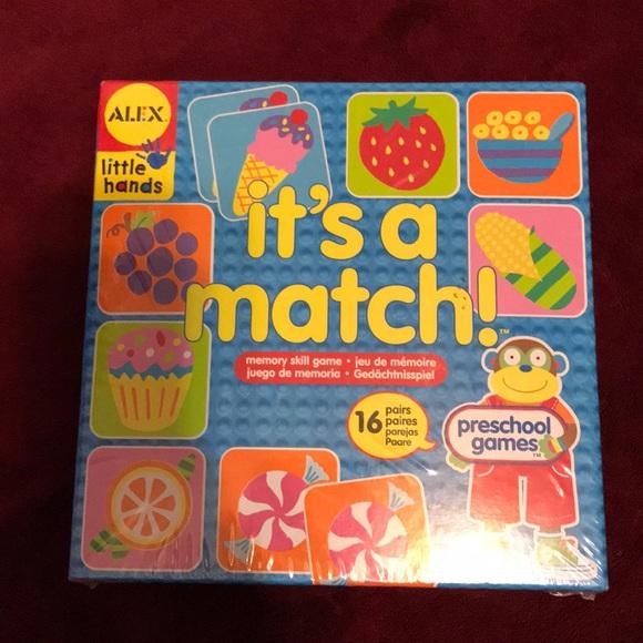 Alex little hands matching game